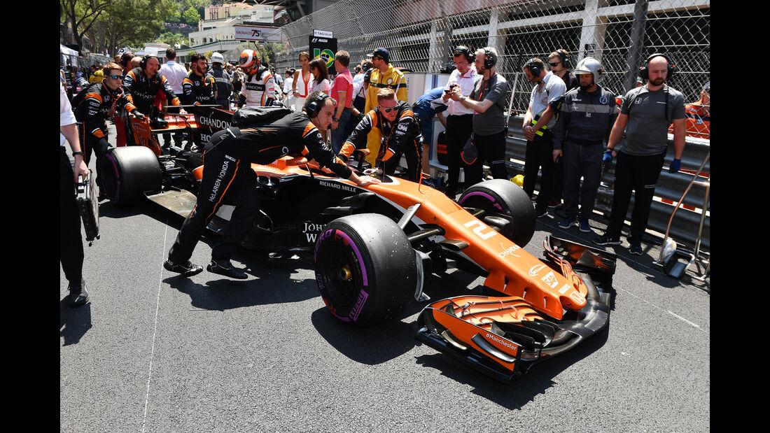 Jenson Button - GP Monaco 2017