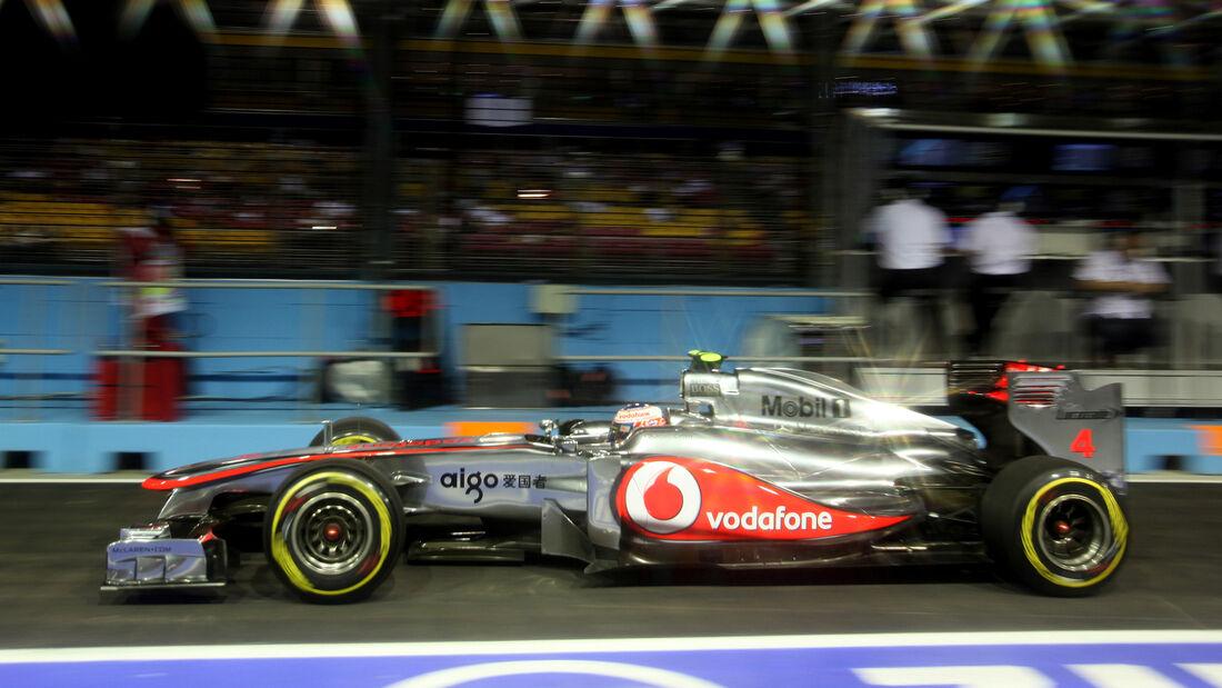 Jenson Button - GP Singapur 2011