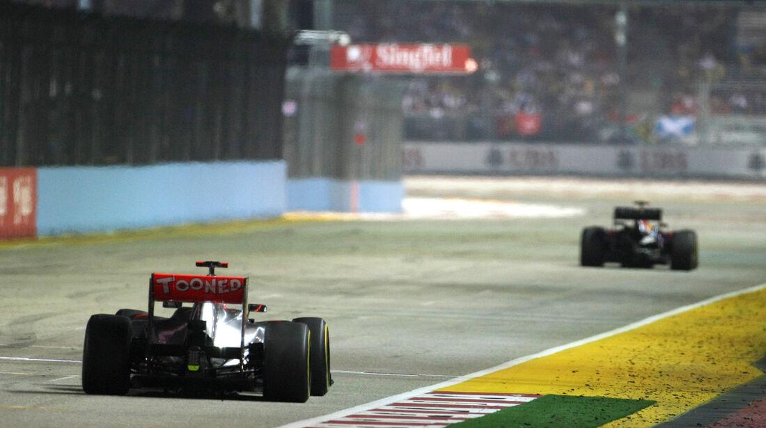 Jenson Button - GP Singapur 2012