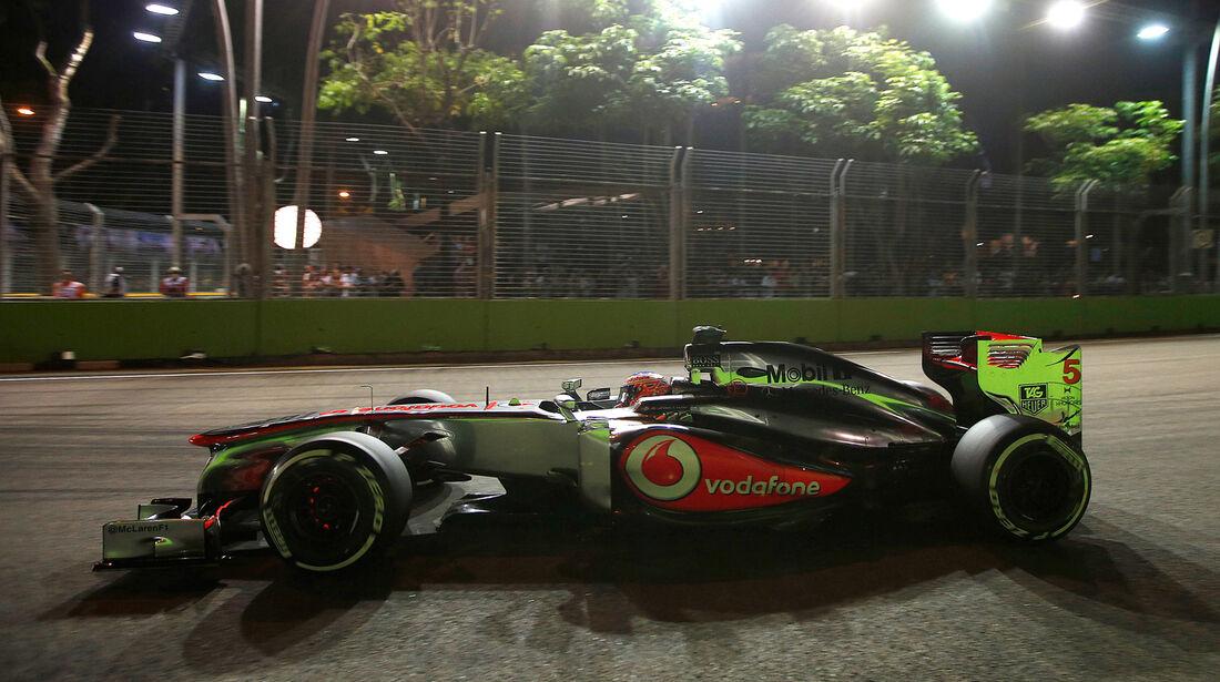 Jenson Button - GP Singapur 2013
