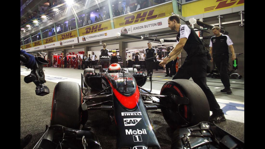 Jenson Button - GP Singapur 2015