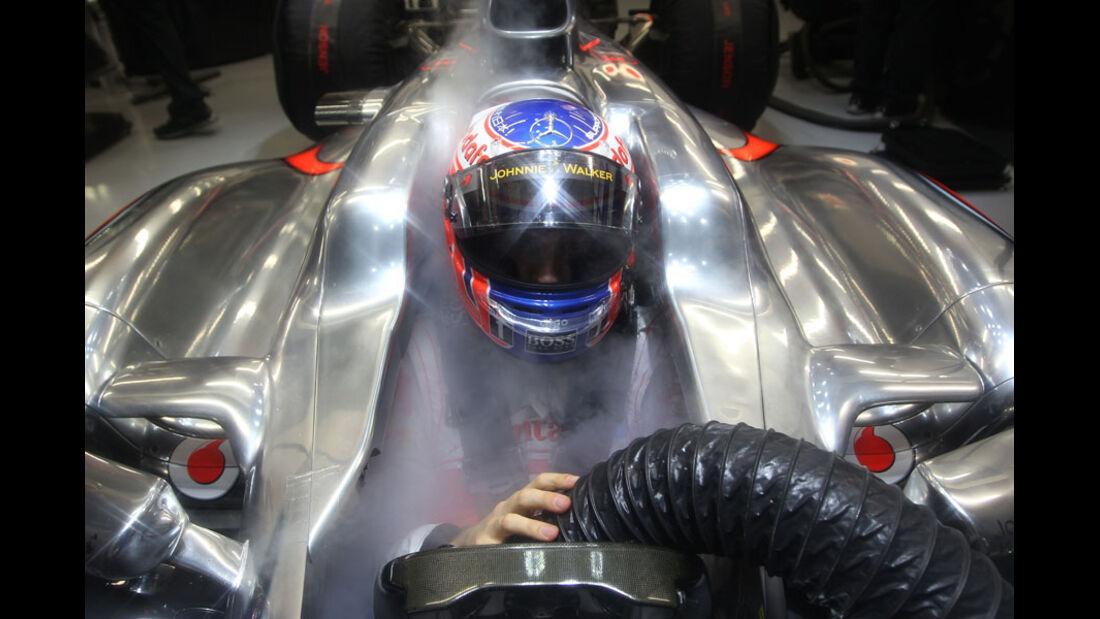 Jenson Button - GP Singapur - 24. September 2011