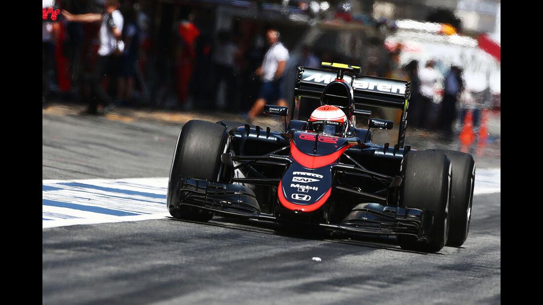 Jenson Button - GP Spanien 2015