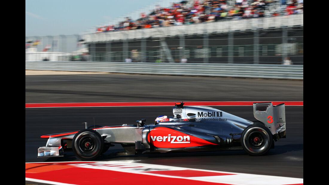 Jenson Button GP USA 2012