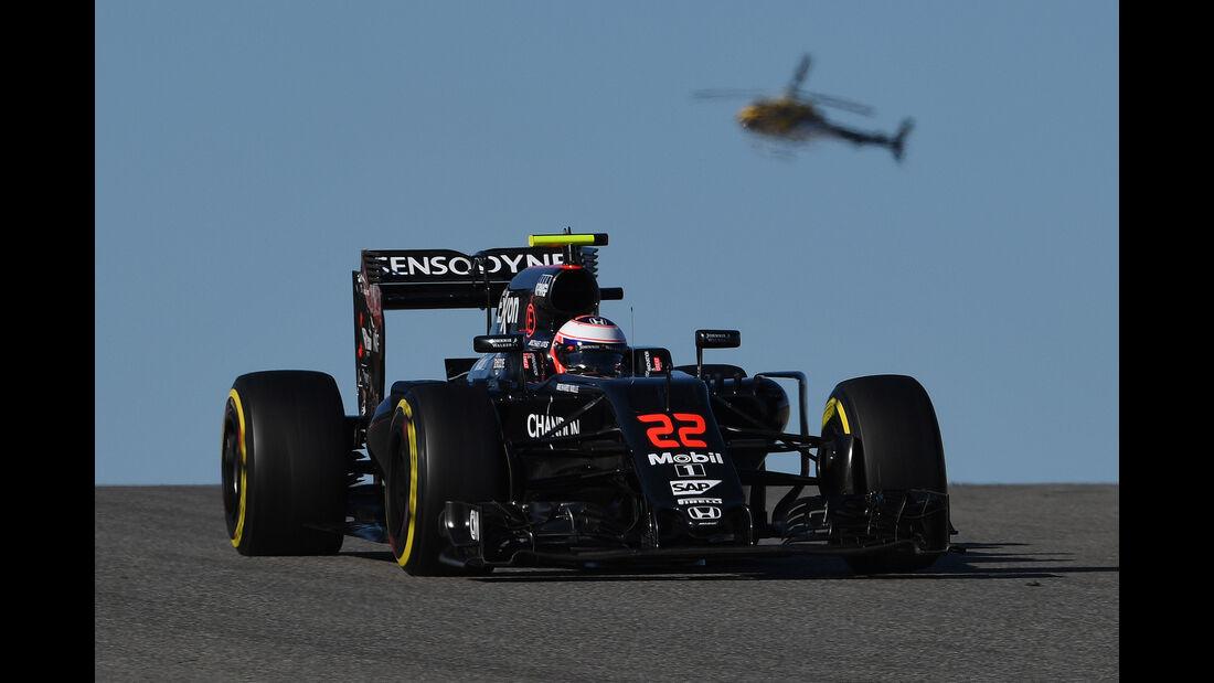Jenson Button - GP USA 2016