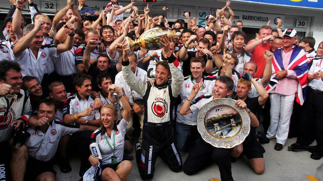 Jenson Button - GP Ungarn 2006