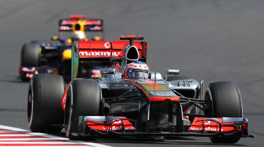 Jenson Button GP Ungarn 2012