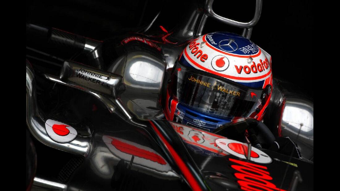 Jenson Button - GP Ungarn - Formel 1 - 29.7.2011