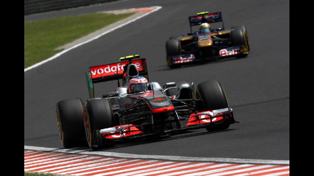 Jenson Button - GP Ungarn - Formel 1 - 30.7.2011