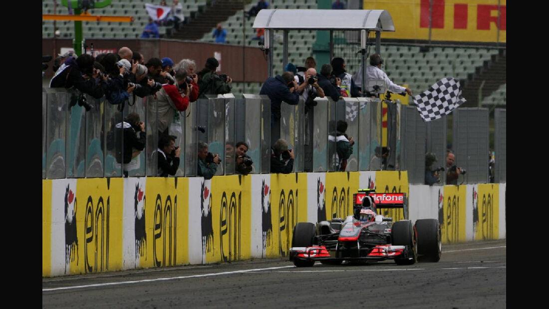 Jenson Button - GP Ungarn - Formel 1 - 31.7.2011 - Highlights