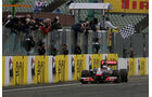 Jenson Button - GP Ungarn - Formel 1 - 31.7.2011 - Highlights