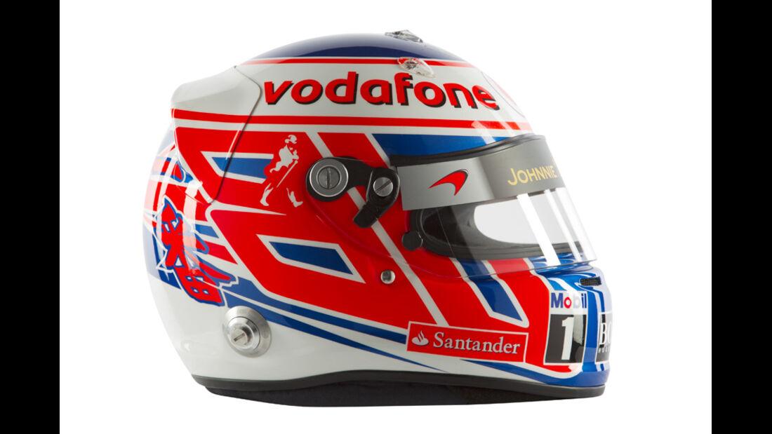 Jenson Button Helm 2012