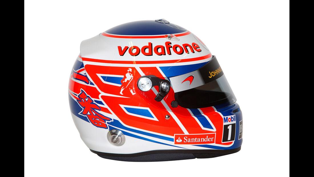 Jenson Button Helm 2013