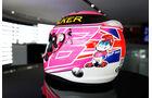 Jenson Button Helm - Formel 1 - GP England - Silverstone - 3. Juli 2014