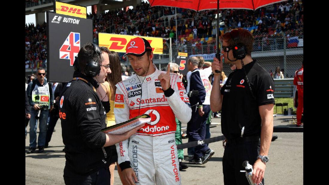 Jenson Button Impressionen GP Türkei 2011