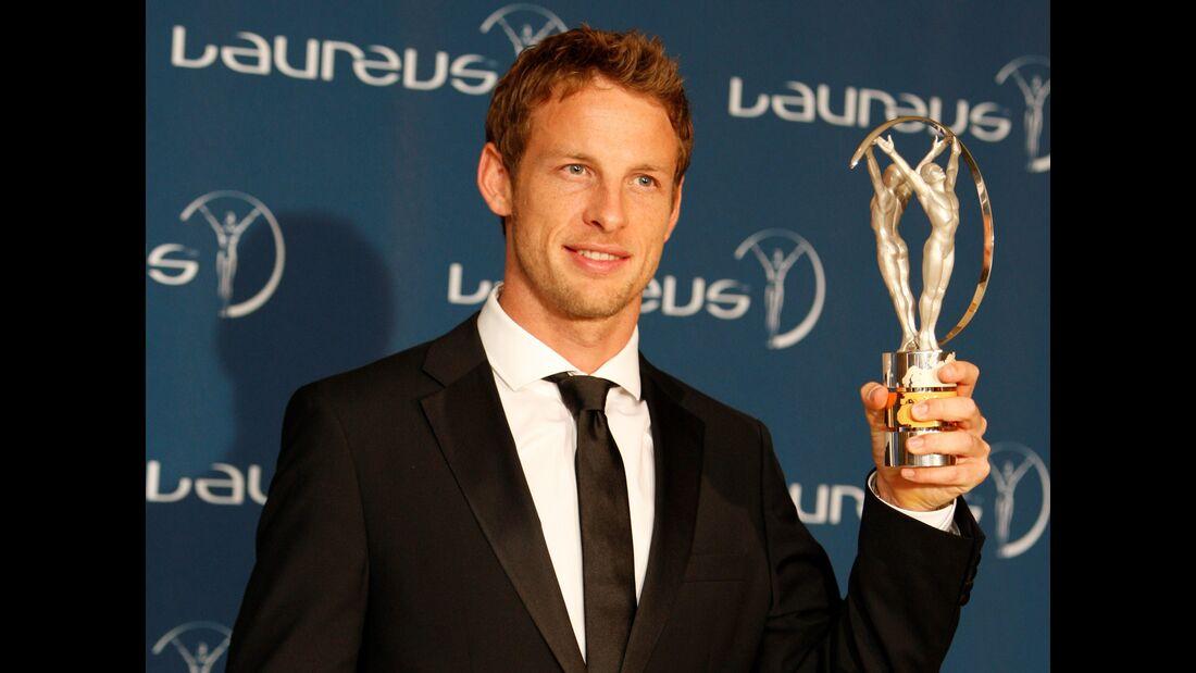 Jenson Button Laureus