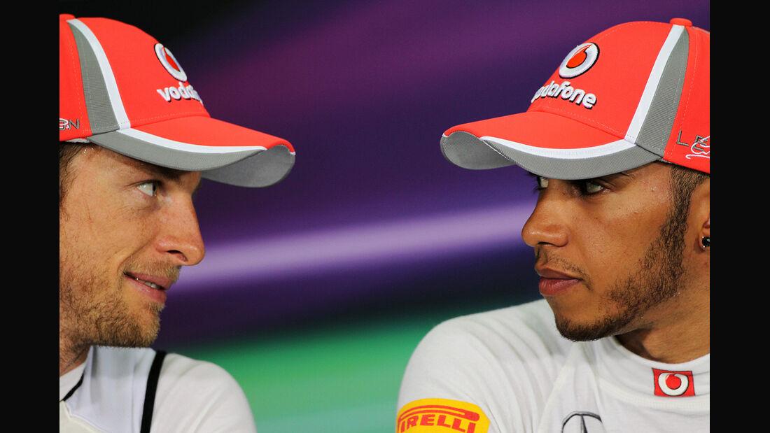 Jenson Button & Lewis Hamilton - GP Malaysia - 24. März 2012