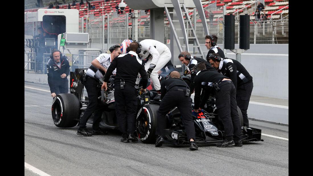 Jenson Button - McLaren - Barcelona - F1-Test - 2016