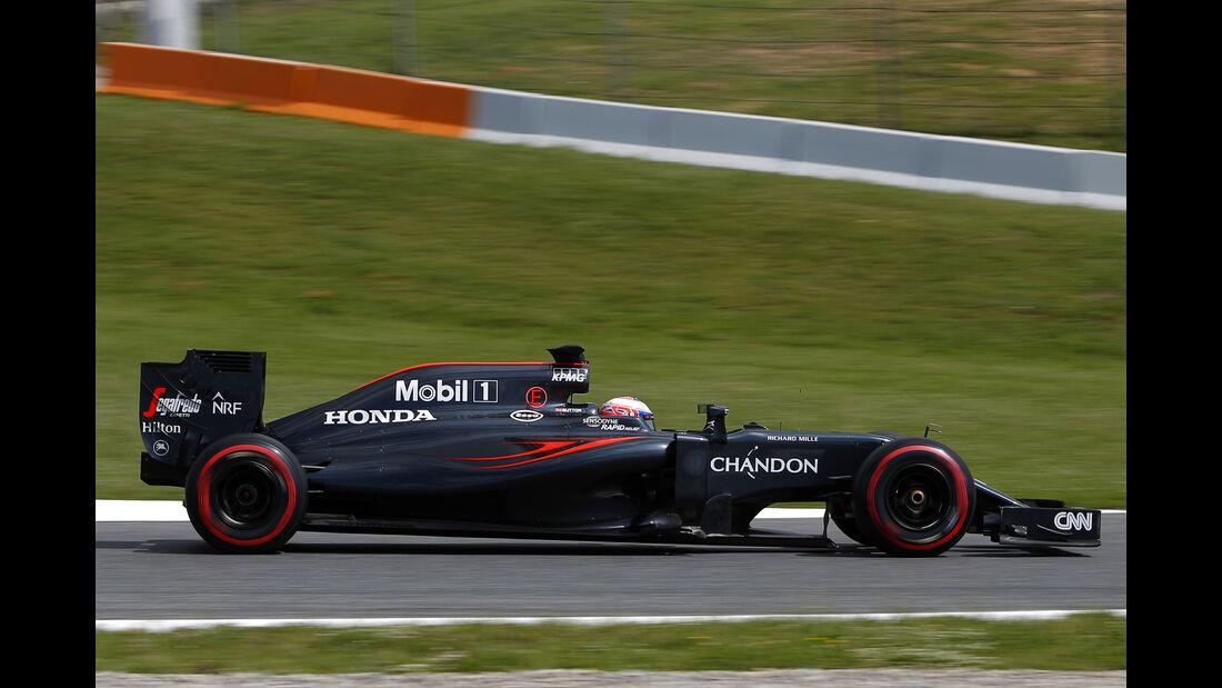 Jenson Button - McLaren - Barcelona-Test - 17. Mai 2016