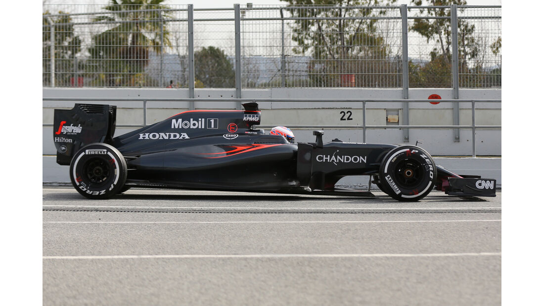 Jenson Button - McLaren - Barcelona-Test - 2016