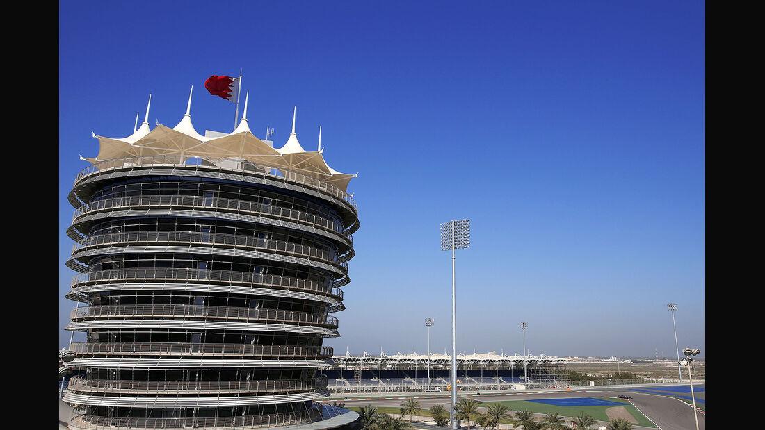 Jenson Button - McLaren - Formel 1- Bahrain - Test - 21. Februar 2014