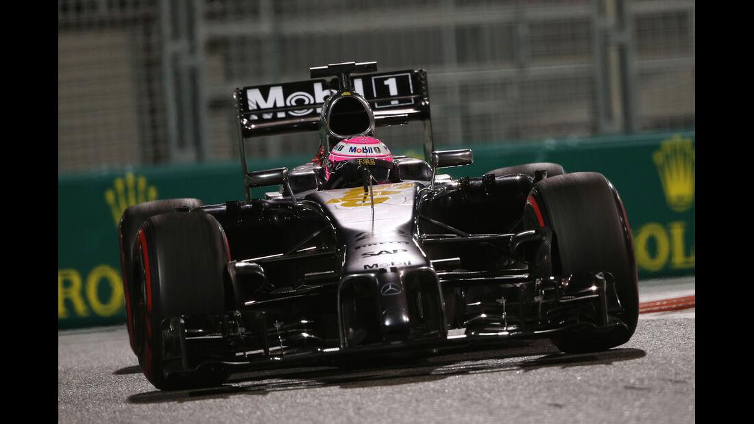 Jenson Button - McLaren - Formel 1 - GP Abu Dhabi - 21. November 2014