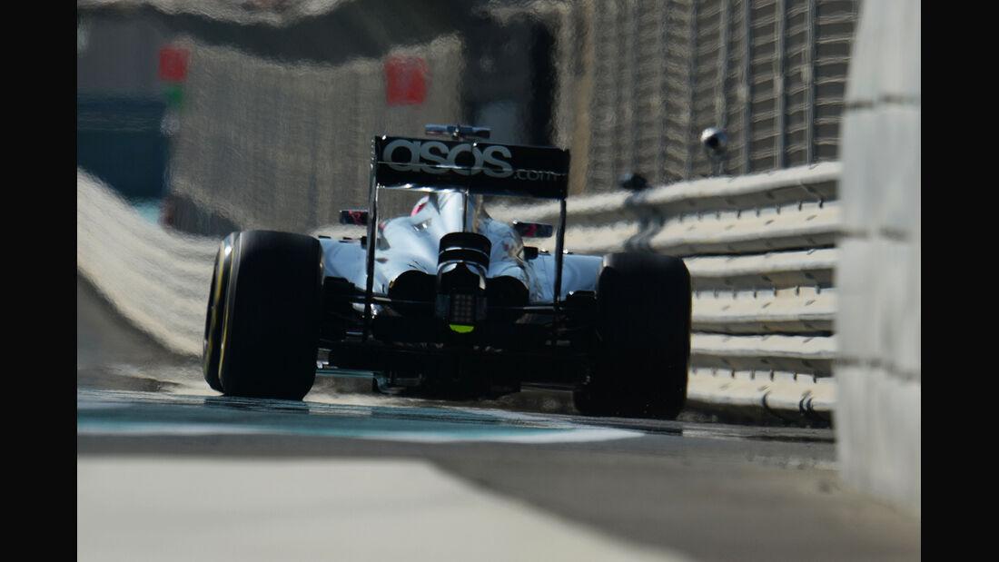 Jenson Button - McLaren - Formel 1 - GP Abu Dhabi - 22. November 2014