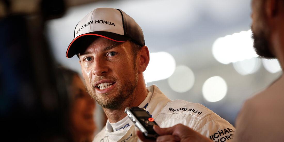 Jenson Button - McLaren - Formel 1 - GP Abu Dhabi - 26. November 2016