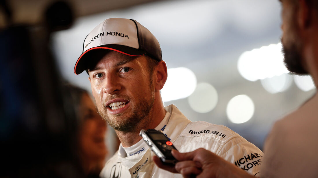 Jenson Button - McLaren - Formel 1 - GP Abu Dhabi - 26. November 2016