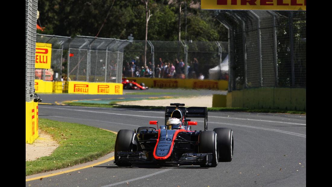 Jenson Button - McLaren - Formel 1 - GP Australien - 13. März 2015