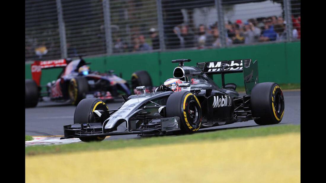 Jenson Button - McLaren - Formel 1 - GP Australien - 16. März 2014