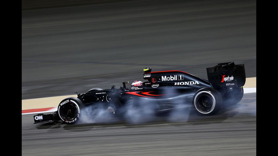 Jenson Button - McLaren - Formel 1 - GP Bahrain - 1. April 2016