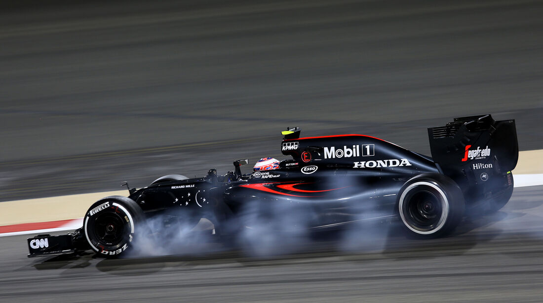 Jenson Button - McLaren - Formel 1 - GP Bahrain - 1. April 2016
