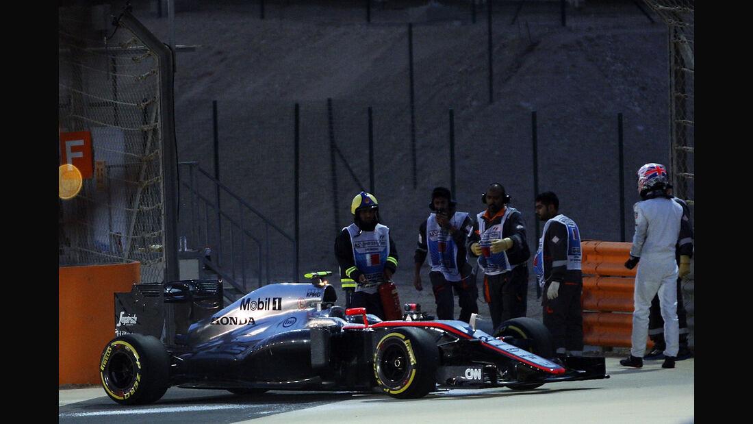 Jenson Button - McLaren - Formel 1 - GP Bahrain - 18. April 2015