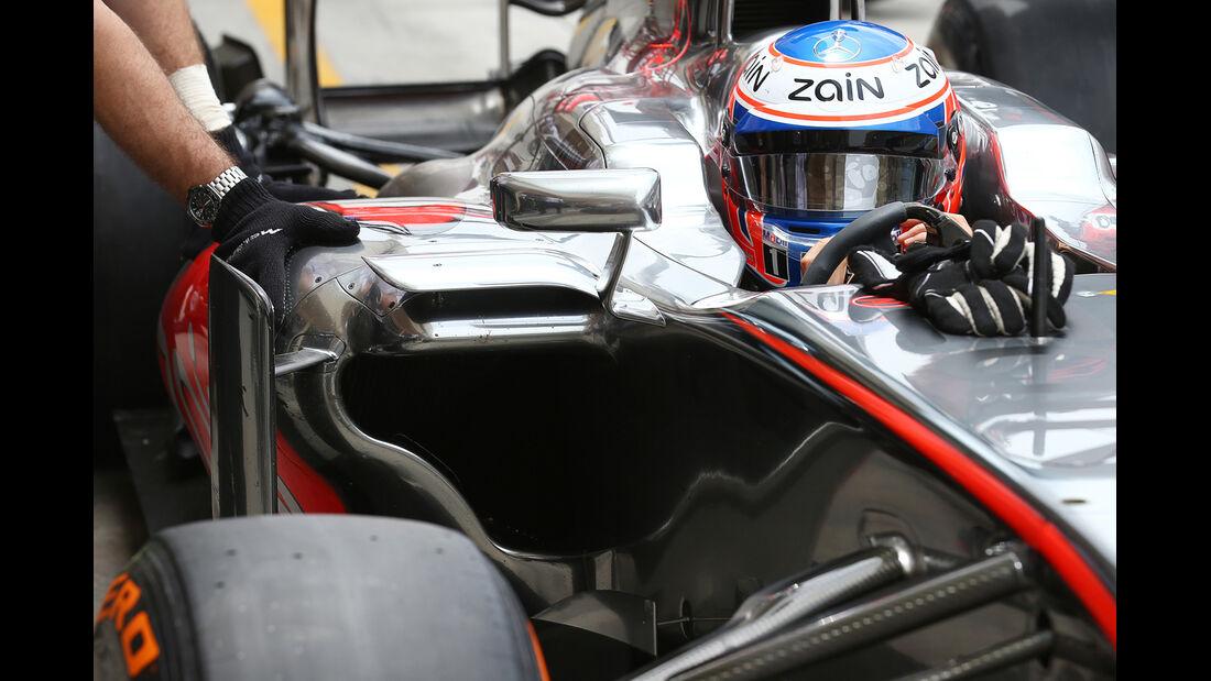Jenson Button - McLaren - Formel 1 - GP Bahrain - 19. April 2013
