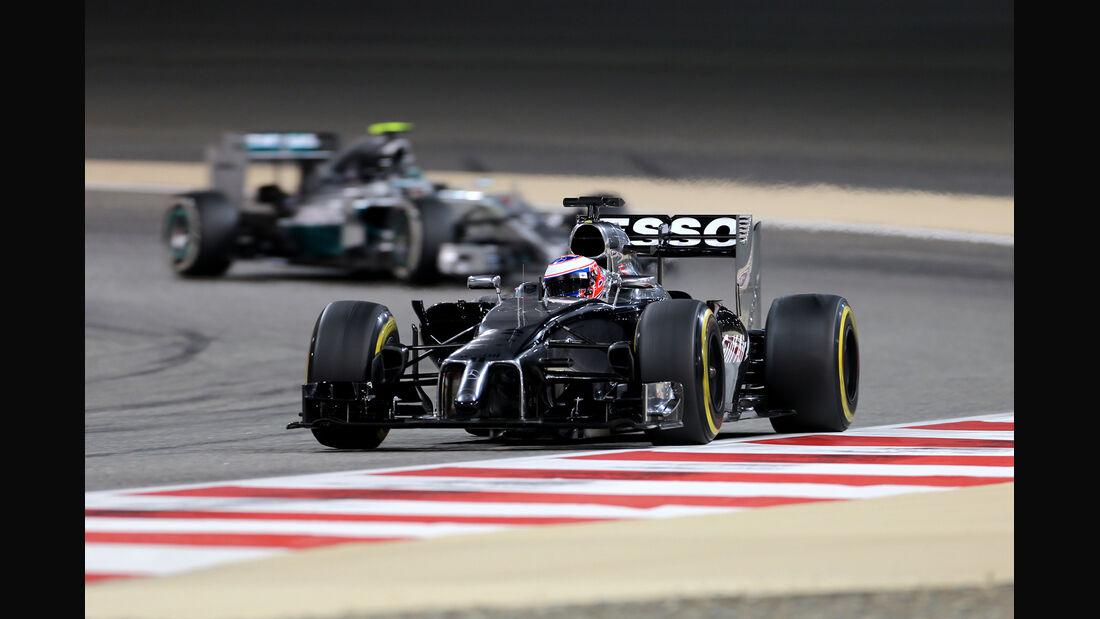 Jenson Button - McLaren - Formel 1 - GP Bahrain - Sakhir - 4. April 2014