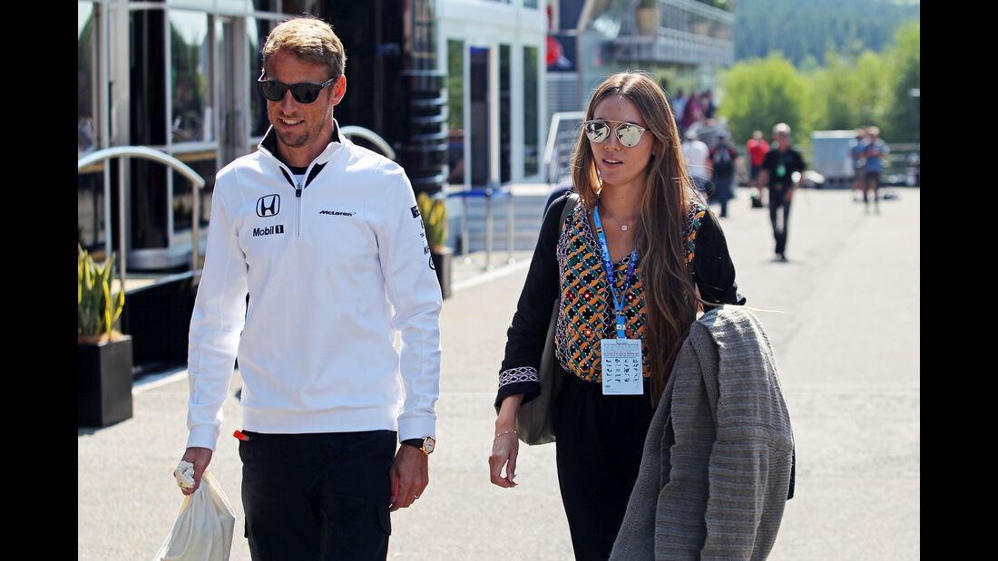 Jenson Button - McLaren - Formel 1 - GP Belgien - Spa-Francorchamps - 20. August 2015