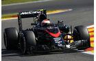 Jenson Button - McLaren - Formel 1 - GP Belgien - Spa-Francorchamps - 21. August 2015
