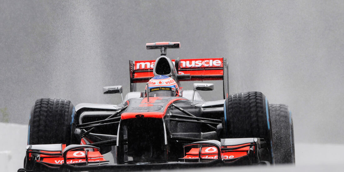 Jenson Button - McLaren - Formel 1 - GP Belgien - Spa-Francorchamps - 31. August 2012