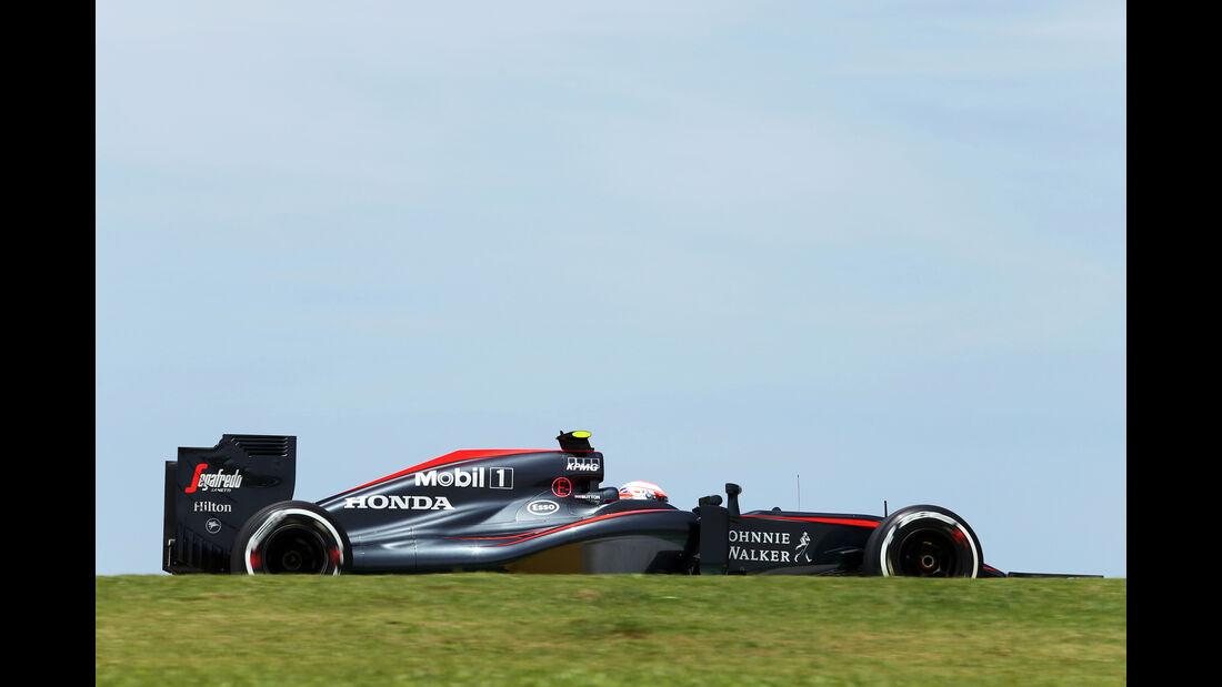 Jenson Button - McLaren - Formel 1 - GP Brasilien- 14. November 2015