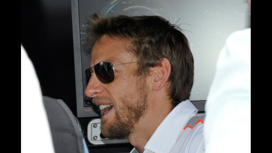 Jenson Button - McLaren - Formel 1 - GP Brasilien - 21. November 2013