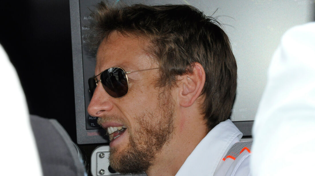 Jenson Button - McLaren - Formel 1 - GP Brasilien - 21. November 2013