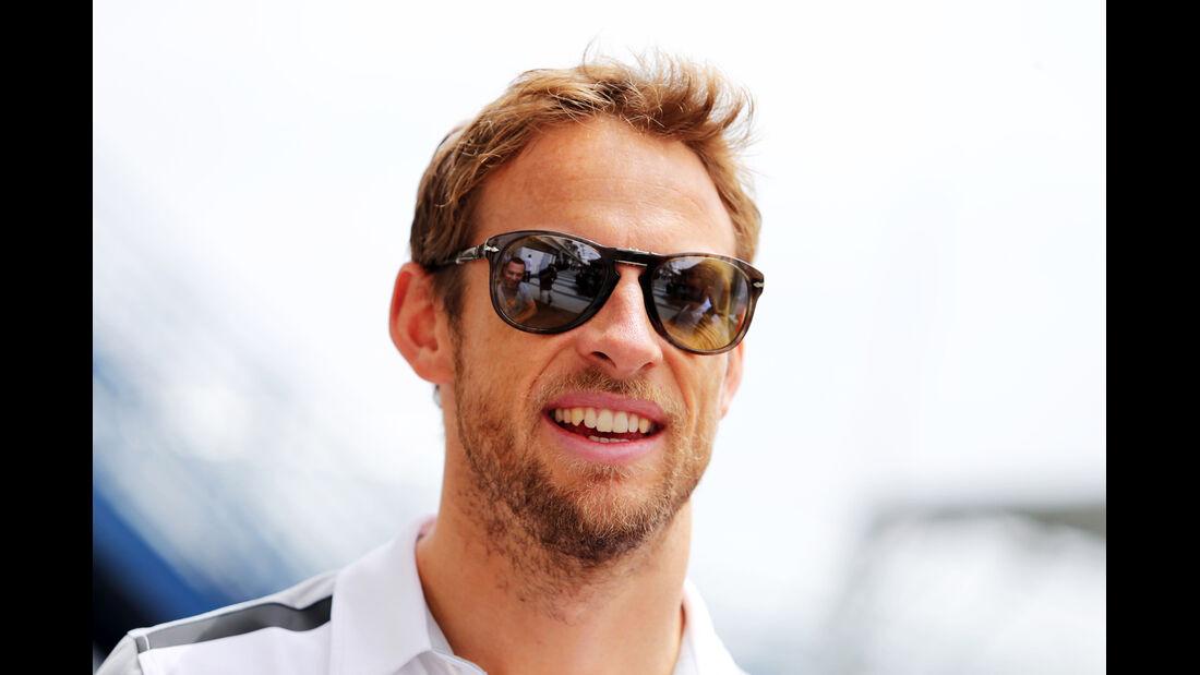 Jenson Button - McLaren - Formel 1 - GP Brasilien - 6. November 2014
