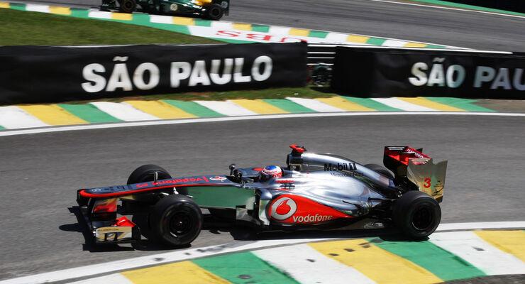 Jenson Button - McLaren - Formel 1 - GP Brasilien - Sao Paulo - 23. November 2012