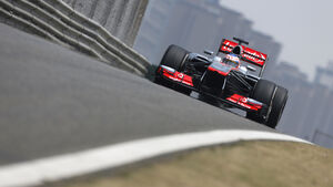 Jenson Button - McLaren - Formel 1 - GP China - 13. April 2013