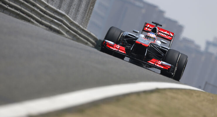 Jenson Button - McLaren - Formel 1 - GP China - 13. April 2013