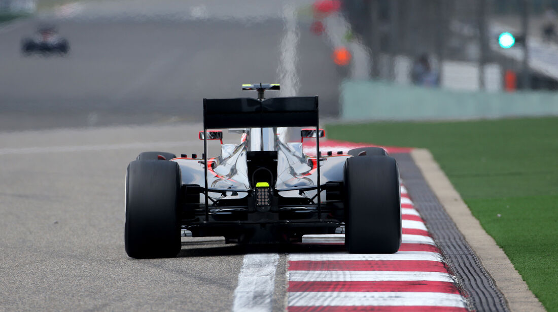 Jenson Button - McLaren - Formel 1 - GP China - Shanghai - 10. April 2015