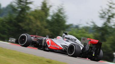 Jenson Button - McLaren - Formel 1 - GP Deuschland - 5. Juli 2013