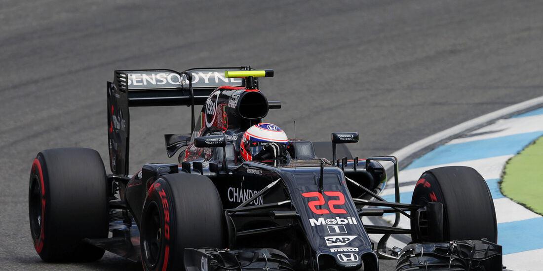 Jenson Button - McLaren  - Formel 1 - GP Deutschland - 30. Juli 2016