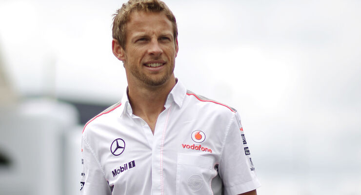 Jenson Button - McLaren - Formel 1 - GP Deutschland - 4. Juli 2013